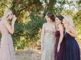 Chic 1920s Outdoors Bridal Shower