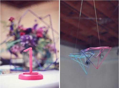Chic And Modern Cosmic Love Wedding Inspiration