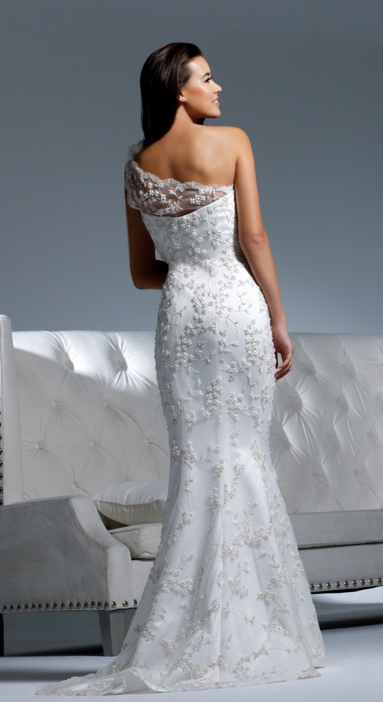 Chic And Romantic One Shoulder Wedding Dresses Weddingomania