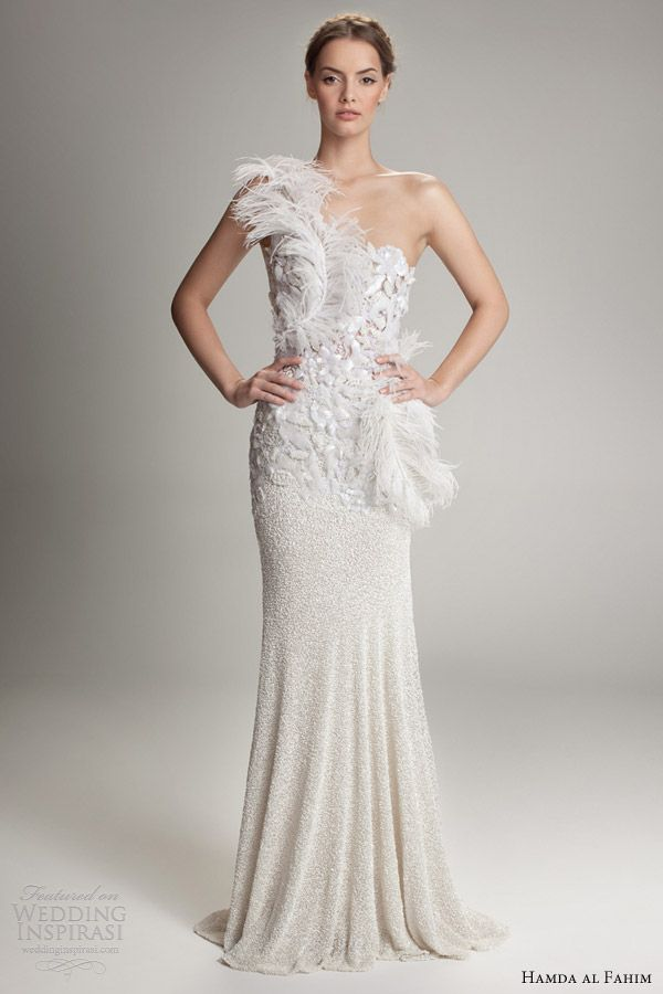 Picture Of Chic And Romantic One Shoulder Wedding Dresses