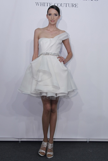 Wedding Dresses One Shoulder 49 Best Chic And Romantic One