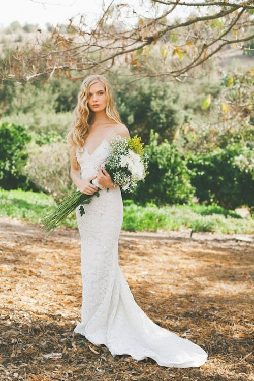 Chic backless wedding dress collection by katie may for Best bra for backless wedding dress