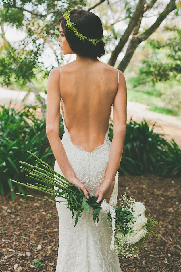 chic backless wedding dress collection katie