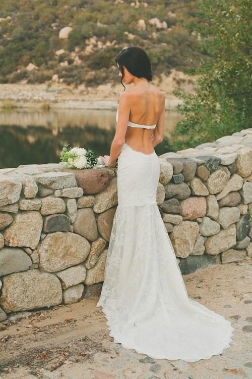 Backless Wedding Dress Bra 35 Marvelous Chic Backless Wedding Dress