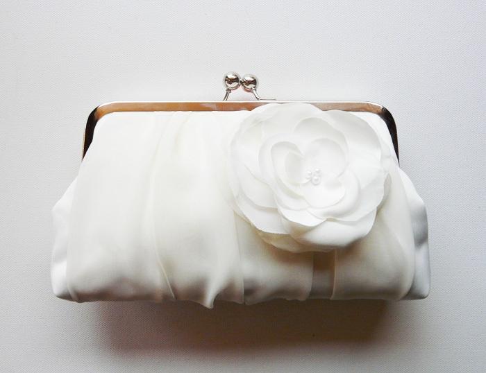 Клатч свадебный