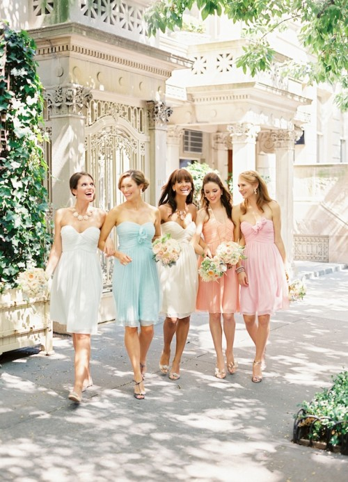 Chic Bridesmaids' Dresses By Donna Morgan