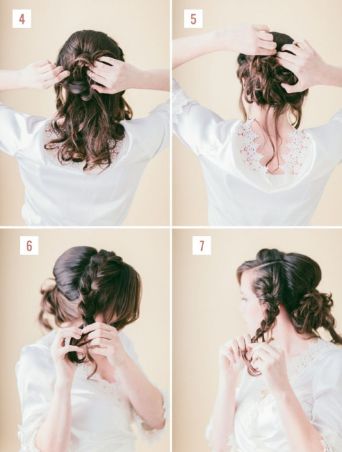 Chic Diy Loose Braided Updo
