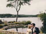 Chic New England Garden Wedding At The Lake Estate