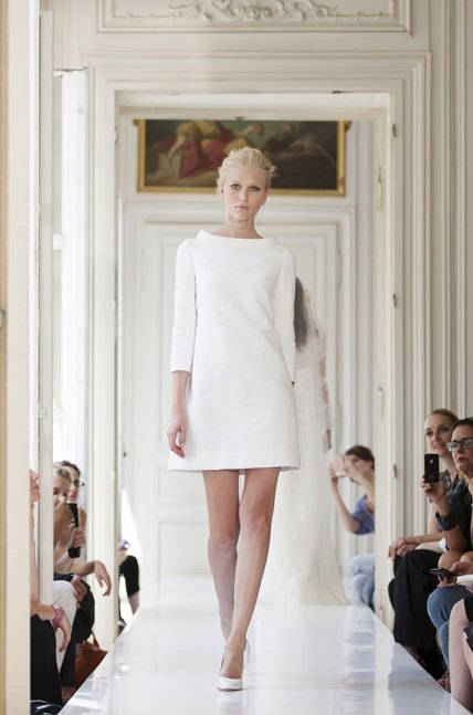 Parisian Chic Wedding Dress : Chic parisian wedding dresses by delphine manivet weddingomania