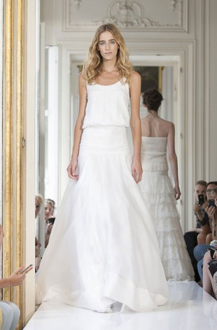 Picture Of Chic Parisian Wedding Dresses By Delphine Manivet