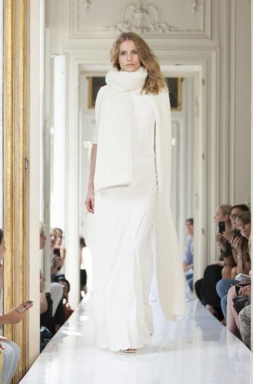 Chic Parisian Wedding Dresses By Delphine Manivet
