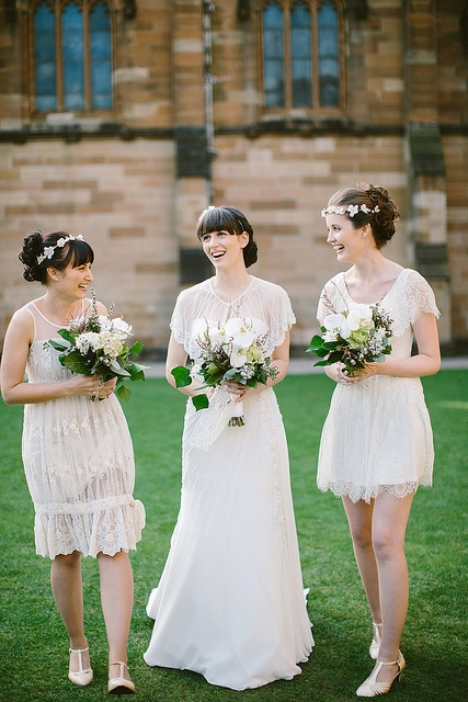 Chic Vintage Bridesmaids Dresses