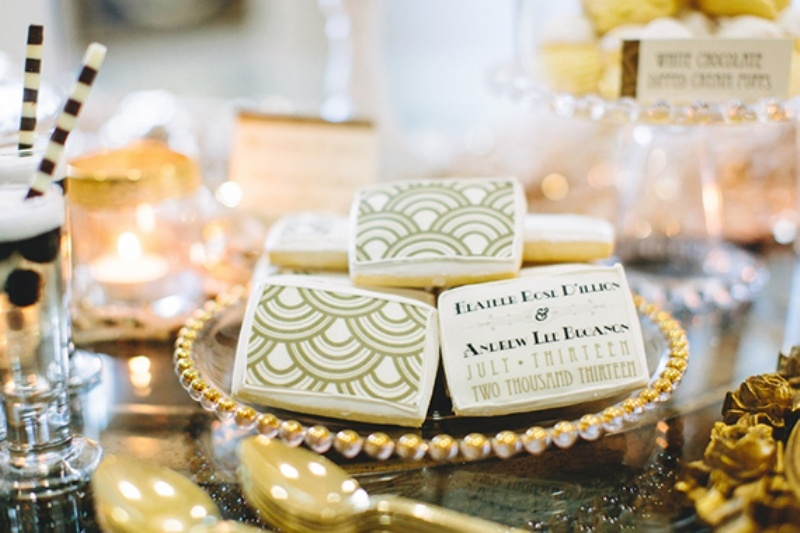 Chick Great Gatsby Wedding Inspiration