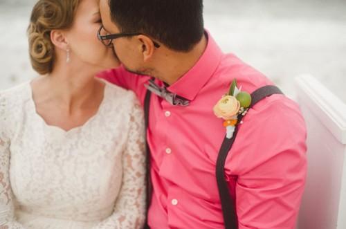 Citrus Beach Wedding Inspiration In Bold Colors