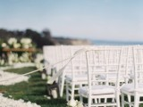 Classic And Elegant All White Wedding At Bacara Resort