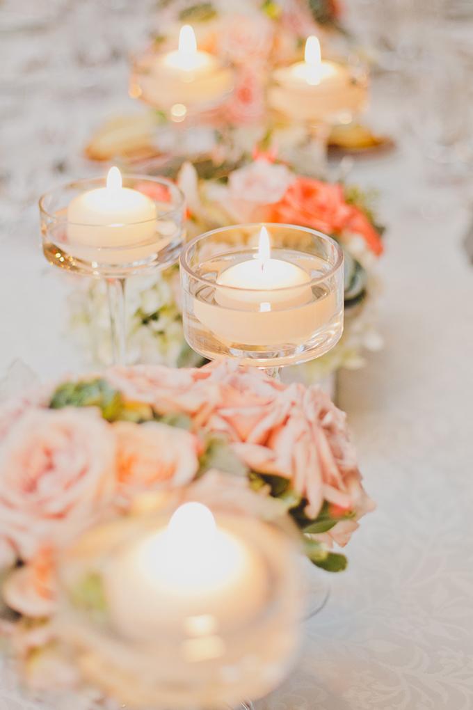 Classic And Elegant White Desert Wedding