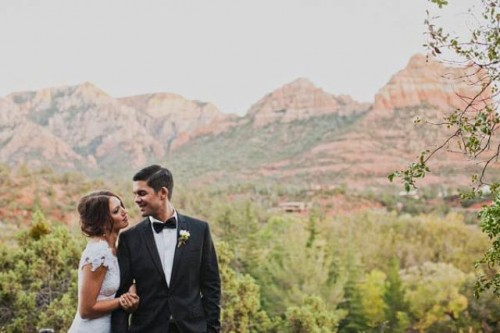 Classic And Timeless Outdoor Sedona Wedding