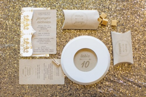 Classic Yet Rustic-Like Metallic Wedding Decor Inspiration