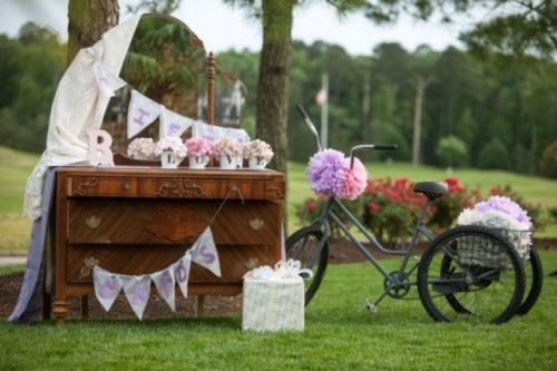 Classical Pink And Grey Wedding With Whimsical Touches