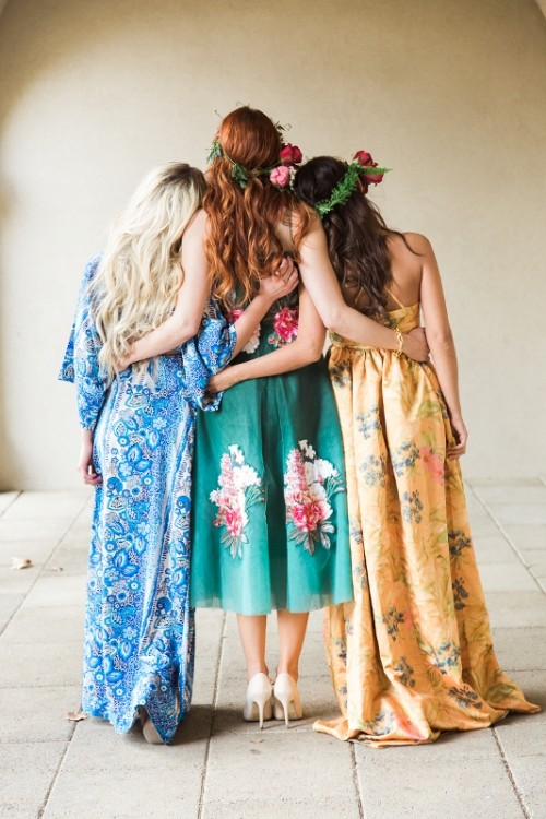 Colorful And Creative Botanical Bridal Shower
