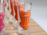 Colorful Bridesmaid Shot Glasses