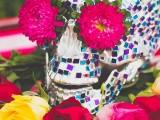 colorful-diy-mosaic-skull-wedding-centerpiece-1