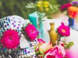 colorful-diy-mosaic-skull-wedding-centerpiece-2