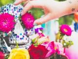 colorful-diy-mosaic-skull-wedding-centerpiece-9