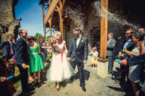 Colorful Heart Themed Wedding In The Czech Republic