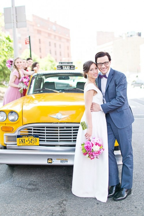 Colorful New York City Wedding Inspiration