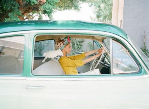 Colorful Retro Cuban Inspired Wedding Shoot