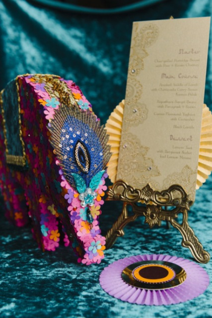 Colorful Wedding Shoot Inspired By Bollywood Glam