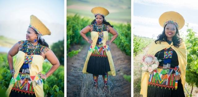 6093ed22e677 Colorful Zulu Wedding With Traditional Style And Food - Weddingomania