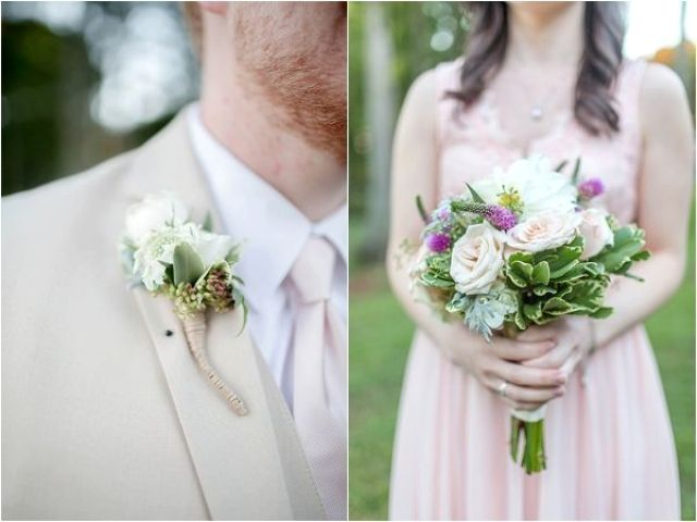 Picture Of completely diy rustic lakeside wedding  11