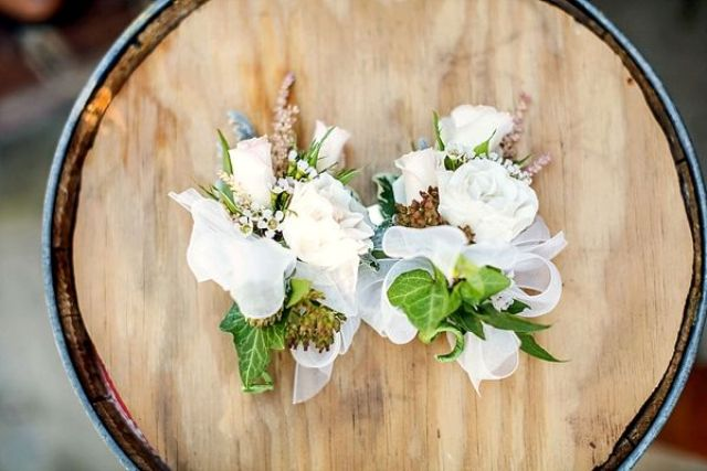 Picture Of completely diy rustic lakeside wedding  5