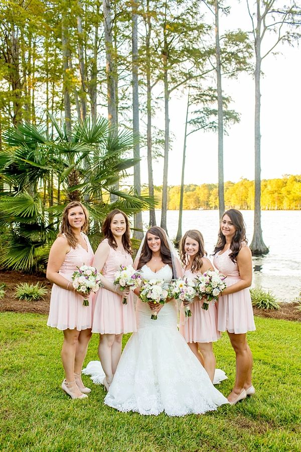 Picture Of completely diy rustic lakeside wedding  6