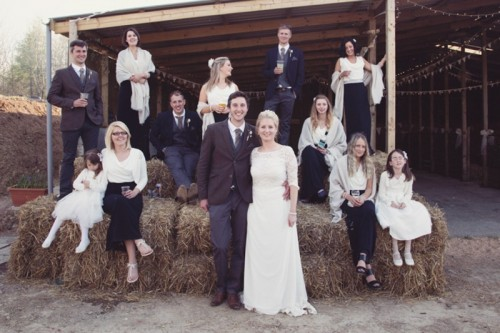 Completely DIY Wedding Including The Dress