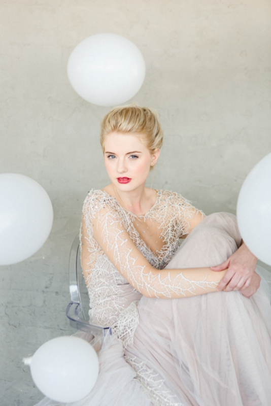 Picture Of contemporary show white winter wedding inspiration  10