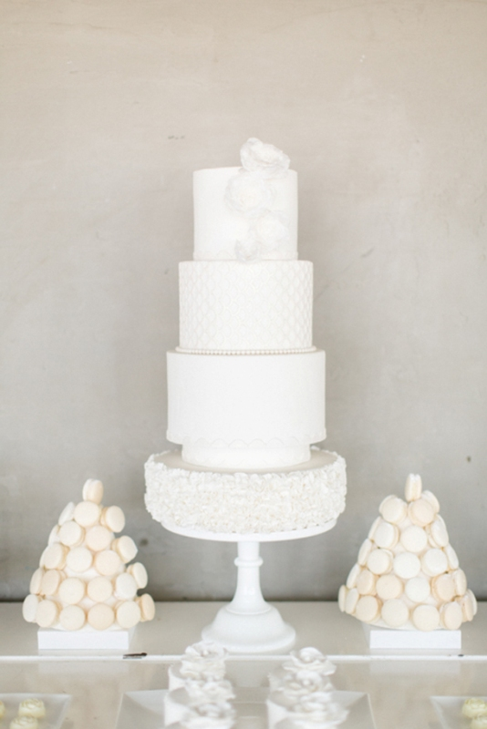 Picture Of contemporary show white winter wedding inspiration  20