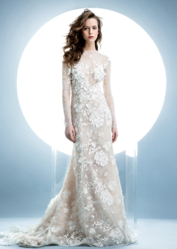 Picture Of contemporary spring 2016 bridal dresses collection from angel sanchez  10