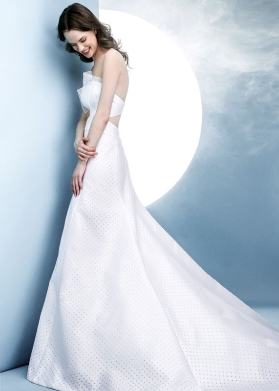 Picture Of contemporary spring 2016 bridal dresses collection from angel sanchez  2
