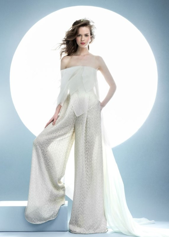 Picture Of contemporary spring 2016 bridal dresses collection from angel sanchez  7