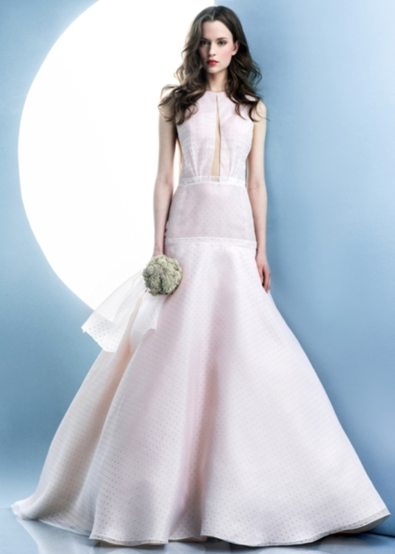 Picture Of contemporary spring 2016 bridal dresses collection from angel sanchez  8