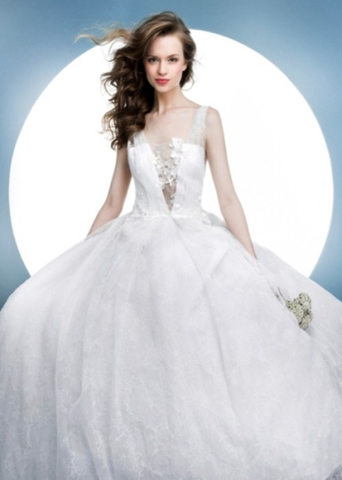 Contemporary Spring 2016 Bridal Dresses Collection From Angel Sanchez