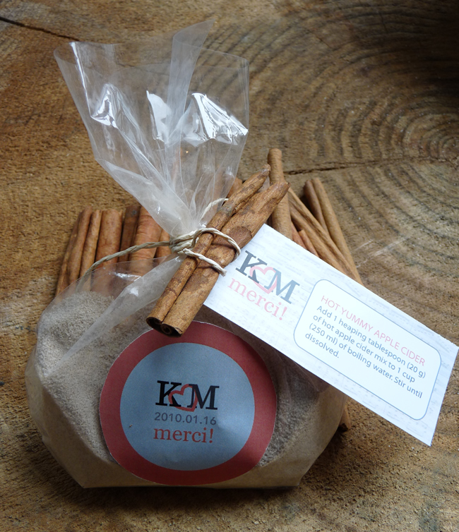 Picture Of Hot Apple Cider Favors