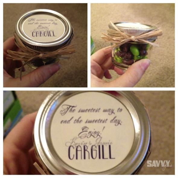 Mason Jar Treats Weddingomania