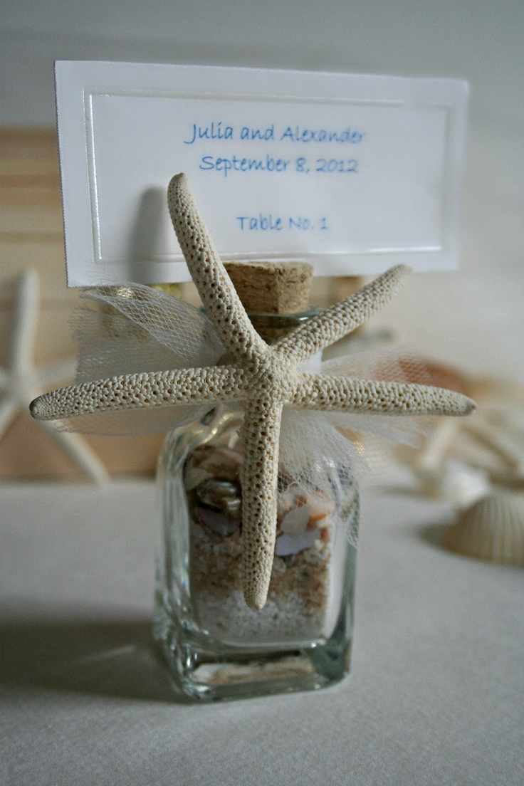 Picture Of Cool Beach Wedding Card Holders