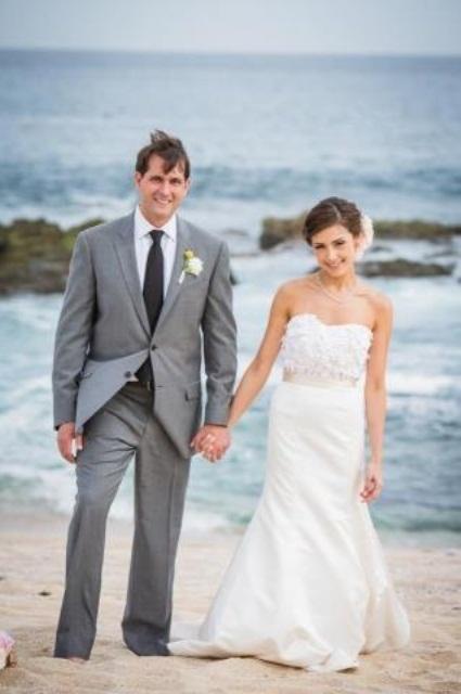 Grooms Suits Beach Weddings Beach Wedding Groom Outfit