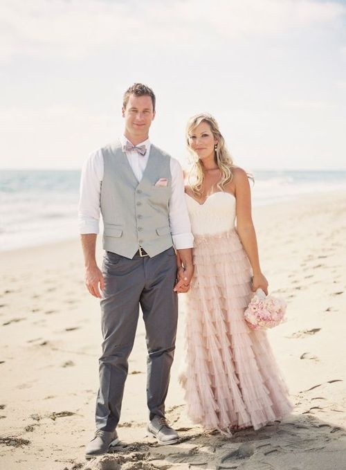 Big Mens Beach Wedding Attire — The Knot