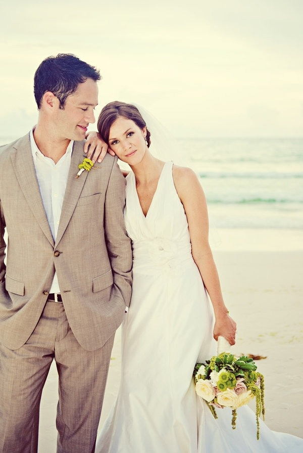 Picture of cool beach wedding groom attire junglespirit Choice Image